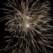 Fireworks sepia — Stock Photo #1513946