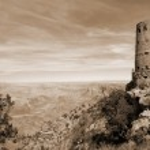 Watchtower at Grand Canyon — Stock Photo