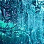 Frosty patrón en vidrio — Foto de Stock