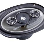 Auto audio system loud speaker — Stock Photo