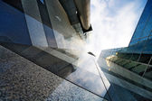 Corporate buildings in perspective — Foto Stock