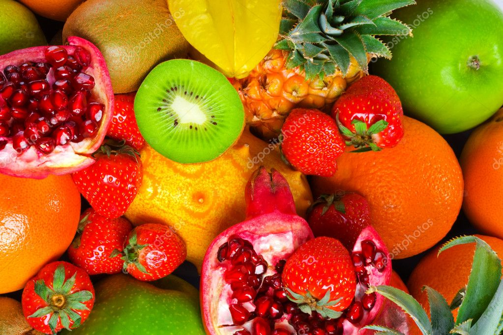 A lot of fruits — Stock Photo #1312172