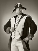 Studio shot of napoleon bonaparte, commi — Stock Photo