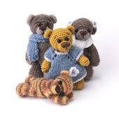 Family of teddy bear — Stock Photo