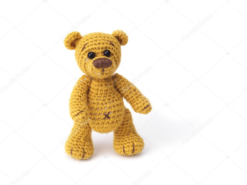 Cute little teddy bear  Foto de Stock   #2079695