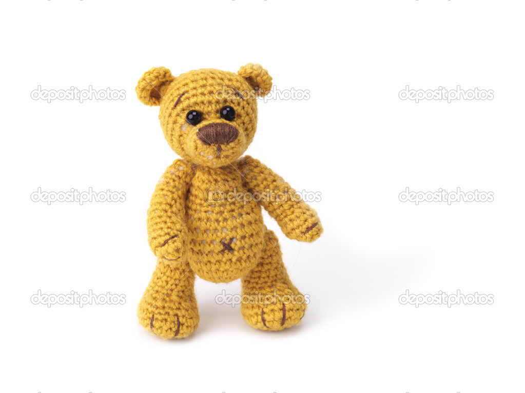 Cute little teddy bear — Photo #2079695