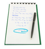 数学证明 — 图库照片