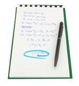 Prueba matemática — Foto de Stock