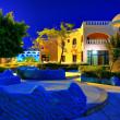 Egypt resort in night — Stock Photo #1294392
