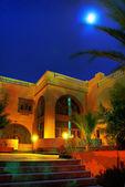 Egypten resort i natt — Stockfoto