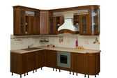 Wood kitchen — Stock Photo