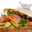 Royalty-Free Stock Photo: Grilled kebab