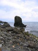 Roccia nel mare — Foto Stock