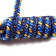 Climbing rope tied in knot — Stock Photo #1293342