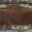 Stock Photo: Abstract rusty grunge metal background