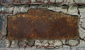 Abstract rusty grunge metal background — Stock Photo