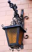Vintage street light — Stock Photo