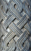 Stone carved pattern — Stock Photo