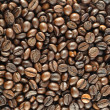 Roasted coffee beans background — Stock Photo #1363637