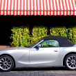 BMW Z4 luxury car in city — Stock Photo #1390318