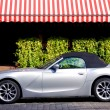 Stock Photo: BMW Z4 luxury car in city