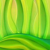 Fundo abstrato curvas — Fotografia Stock