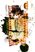 Artwork, abstracte achtergrond, texturen — Stockfoto
