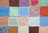 Texture knitted scraps — Stockfoto