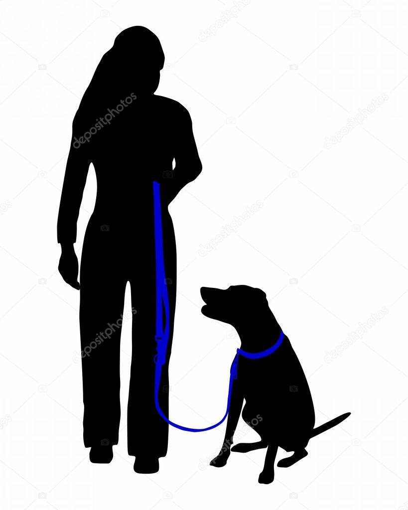 Heel Dog Command Training