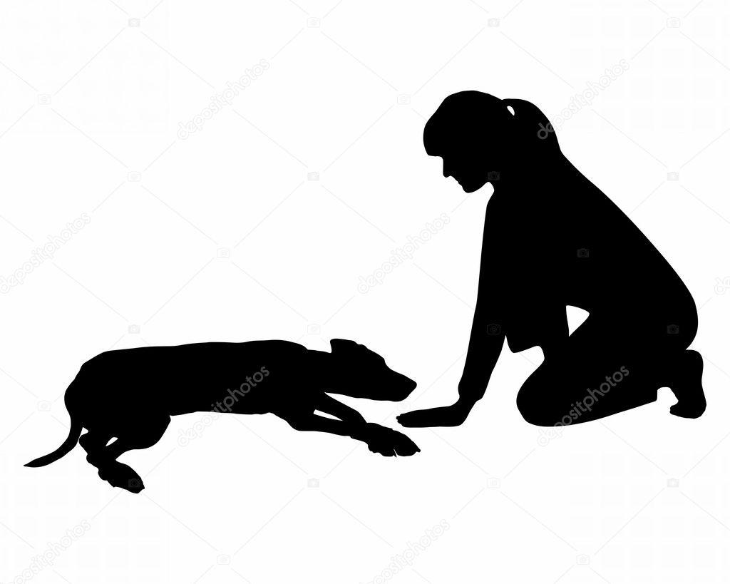 Dog Training Lay Down Command