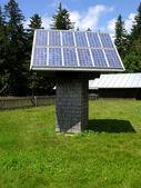 солнечный коллектор — Стоковое фото