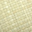 Beige rattan mat — Stock Photo