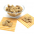 Selfmade dog cookies — Stock Photo