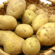 A basket with potatoes — Stock Photo #1952143