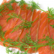 Stock Photo: Salmon with fennel