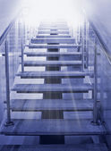 Ladder to light — Stock Photo