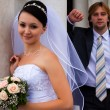 Column&newlyweds — Stock Photo #1293204