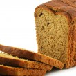 Royalty-Free Stock Photo: Close-up of Whole Wheat Bread Isolated
