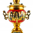 Royalty-Free Stock Photo: Old golden samovar