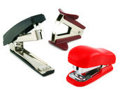Two staplers and antistapler — Stock Photo