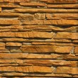 A Stacked Stone Wall Texture - Stock Photo