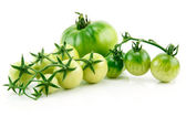 Bunch of Ripe Yellow and Green Tomatoes — Stock Photo