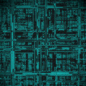 Abstract electric circuit — Stock Photo