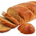 Whole wheat bread isolated — Stock Photo #1317078