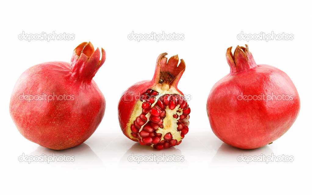 how to clean a pomegranate fruit