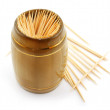 Stock Photo: Bunch of toothpick isolated