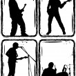 Royalty-Free Stock Vector Image: Rock band, part 1