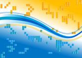 Fondo de color — Vector de stock