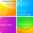 Business cards - eps 10 — Stock Vector