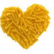 Pasta heart - Stock Photo